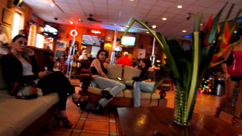 Hookers in Lobby of Del Rey